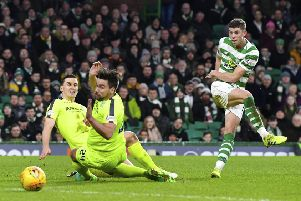 Ryan Christie has been in excellent form for Celtic in recent months. Picture: SNS