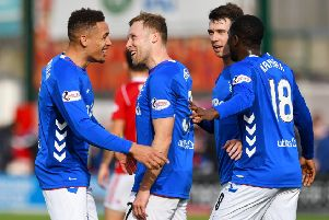 Hamilton 0 - 5 Rangers: How the victorious Rangers players rated