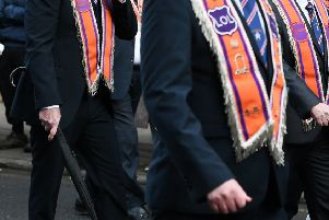 Stock image. The attack occured as an Orange walk passed a church. Picture: John Devlin