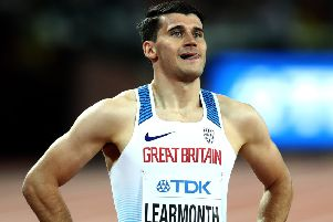 Guy Learmonth is going for 800m gold on a home track in Glasgow. Picture: Alexander Hassenstein/Getty