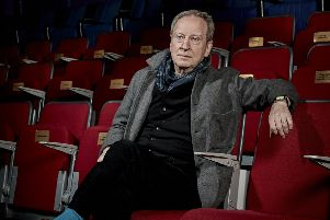 Bill Paterson started his career at the Citizen's Theatre in Glasgow and hasn't stopped working since, in TV, theatre and film. Picture: Debra Hurford Brown. ''With thanks to Upstairs at The Gatehouse, Highgate , London (www.upstairsatthegatehouse.com)