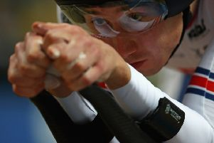 John Archibald was seventh in the individual pursuit at the UCI Track Cycling World Championships. Picture: Dean Mouhtaropoulos/Getty Images