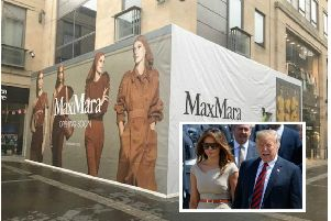 Luxury fashion chain Max Mara is a favourite of US First Lady Melania Trump. Picture: Contributed/Getty Images