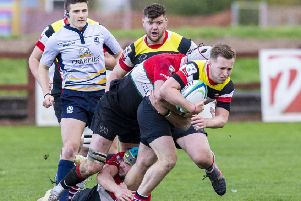 Stirling's Andrew Goudie. Pic: SNS/SRU/Bruce White