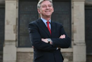 Scottish Labour leader Richard Leonard says the party will focus on social, economic and environmental issues. Photograph: John Devlin