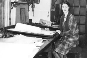 In a familiar story of early female architects, there's little information on the record books about Kathleen Veitch.