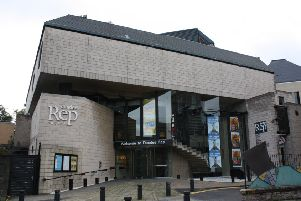 The Dundee Rep Theatre. Picture: TSPL