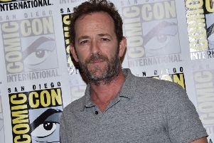 Actor Luke Perry has died (Photo by CHRIS DELMAS / AFP)CHRIS DELMAS/AFP/Getty Images