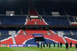 PSG's Parc des Princes is a magnet for superstars such a Leonardo Di Caprio, Rihanna, Beyonce and Mick Jagger. Picture: AFP/Getty