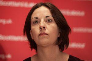 Former Scottish Labour leader Kezie Dugdale