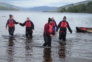 Women taking to the water as part of the Next Steps programme: Venture Trust's criminal justice programme for women