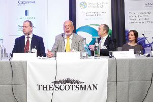 """Scotsman Conference """"Investment 2019"""" at The Principle Charlotte Square 05/03/19"""