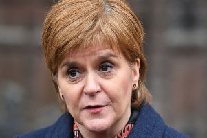 Nicola Sturgeon. Picture: Dominic Lipinski/PA Wire