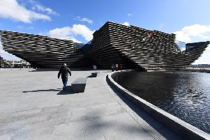 V&A Dundee acknowledged the support of the Sackler Trust and the Dr Mortimer and Theresa Sackler Foundation. Picture: John Devlin
