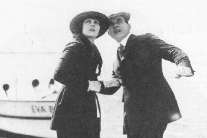 William Duncan and Edith Johnson in The Silent Avenger (1920). In his day, as star, writer and director, Duncan was Dundee's answer to George Clooney. Picture: Hulton Archive