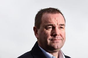 Neil Findlay hit out at Tory hardline Brexiteers in the European Research Group - chaired by MP Jacob Rees-Mogg - as he slammed the Conservative Government's approach to Brexit. Picture: John Devlin