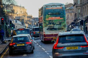 The workplace parking levy is intended to tackle congestion. Picture: Scott Louden