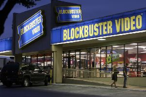 'Netflix and chill' has nothing on the courting ritual involved in choosing a video rental in Blockbusters (Ron Heflin/AP)