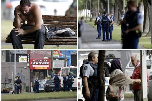 40 have been killed in gun attacks at two mosques in Christchurch, New Zealand. Pictures: AP/Getty