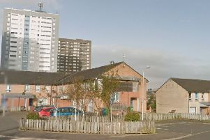 Dewar Drive, Drumchapel where the attack took place. Picture: Google
