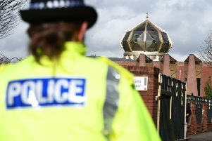 There is no specific threat but officers will be working to reassure and engage with communities of all faiths, Police Scotland said. Picture: John Devlin
