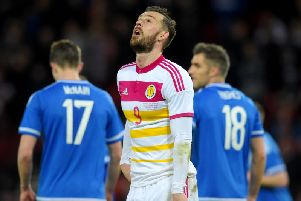 Scotland were the subject of a jib from Northern Ireland. Picture: SNS