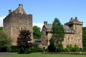The teenager was found in Dean Park, close to Dean Castle. Picture: Scotia/Wikicommons