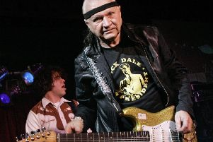 Surf guitar legend Dick Dale has died at the age of 91. Picture: AP