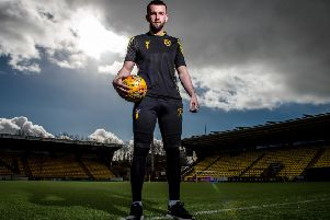 Goalkeeper Liam Kelly has kept a total of 15 clean sheets for Livingston this season. Picture: SNS
