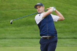 Scotland's Russell Knox in action during The Players Championship at Sawgress. Picture: Gregory Shamus/Getty