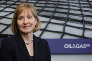OGUK chief executive Deirdre Michie said challenges remain for the the oil and gas sector. Picture: Newsline Media