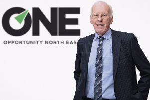 Sir Ian Wood, chair of ONE's digital and entrepreneurship sector board. Picture: Ross Johnston
