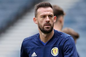 Steven Fletcher says medical advice and Kazakhstan's plastic pitch were why he was left out of the Scotland squad. Picture: Ian MacNicol/Getty