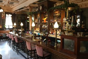 Historic Cafe Royal bar in Edinburgh has just completed a six figure makeover