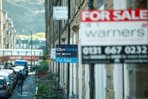 Housing prices in Scotland are lagging behind the rest of the UK. Picture: Toby Williams