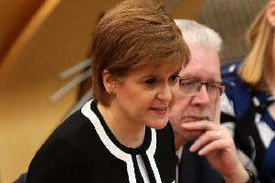 First Minister Nicola Sturgeon has slammed ScotRail over its recent performance. Picture: Andrew Milligan/PA Wire