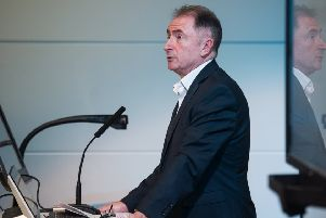 Sir Jim McDonald, principal and vice-chancellor of the University of Strathclyde, said the move 'underlines the importance of Scotland's burgeoning biotechnology'. Picture: John Devlin