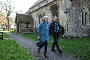 Mrs May is reportedly facing pressure from within the Conservative party to quit over her handling of the Brexit process. Picture: Taylor/Getty Images
