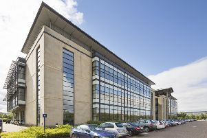 The vast building is situated in the South Gyle area. Picture: Contributed
