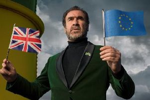 Cantona urges Brits to take an exit from Brexit