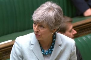 Prime Minister Theresa May told MPs that she could not guarantee to honour the results of indicative votes on Brexit