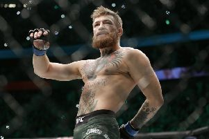 Conor McGregor is calling it a day. Picture: AP Photo/John Locher