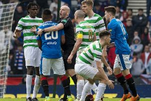 Bobby Madden was in charge of the Old Firm semi-final last season. Picture: SNS