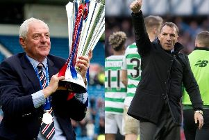 Walter Smith and Brendan Rodgers both enjoyed excellent records in Old Firm derbies