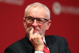 Labour leader Jeremy Corbyn must secure a second EU referendum as part of any compromise plan with Theresa May. Picture: Andrew Milligan/PA Wire