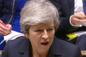 Prime Minister Theresa May. Picture: House of Commons/PA Wire