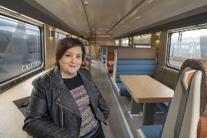 Susan Calman is set to become the new voice on the Caledonian Sleeper services. Picture: Peter Devlin