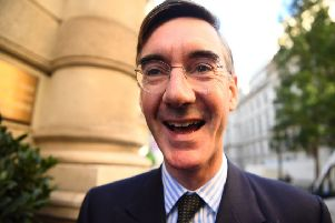 Leading Brexiteers like Jacob Rees-Mogg are reportedly known as Grand Wizards ' a title also used by the KKK (Picture: Victoria Jones/PA Wire)