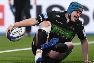 Scott Cummings has been in impressive form for Glasgow and is set to play a key role against Saracens. Picture: Gary Hutchison/SNS/SRU