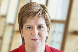 Nicola Sturgeon. Picture: SWNS